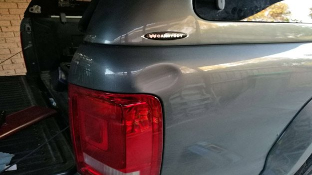 Dent and scratch direct repair Melbourne - Work 14